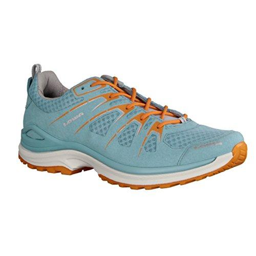Lowa - Innox Evo LO Ws Chaussures multifonctionnelles pour femmes (bleu clair/orange) - EU 40 - UK 6,5