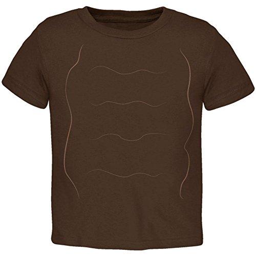 Halloween Snail Costume Toddler T Shirt Brown 2T -