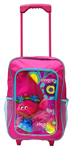 Luggage Backpack Official Licensed Trolls | DreamWorks Deluxe Trolley - Trolley Deluxe