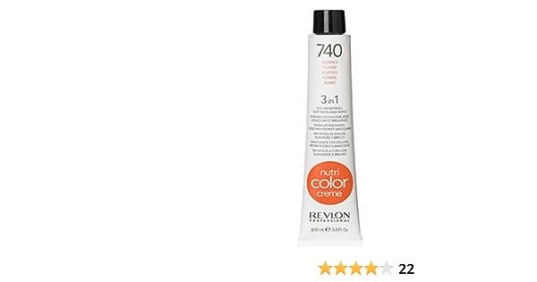 REVLON NUTRI COLOR CRÈME No. 740 Cobro 250 ml: Amazon.es: Belleza