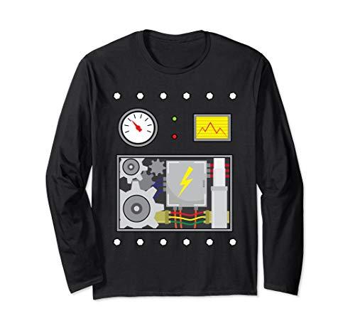 Robot Long Sleeve Shirt Costume Holidays, Robot Fans, -