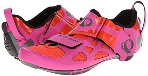 Pearl Izumi Scarpa W Tri Fly V Carbon Hot Pink/Black 36.0