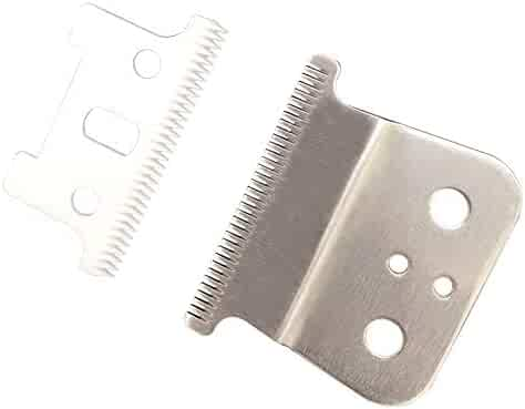 T outliner blades for Andis T outliner,andis gtx, t outliner replacement blade andis gtx replacement blade (Ceramic T blade + sliver steel blade)