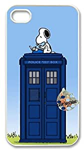 [case forcolor]:Snoopy is a Time Lord Hard Case for iphone4 4s.