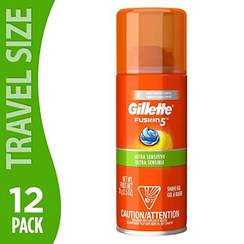 Gillette Fusion Hydra Shave Gel Ultra Sensitive 2.5 oz - (Pack of 12)