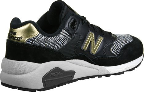 New Balance WRT580 W Calzado negro gris oro