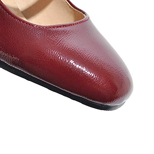 SDC05742 Compensées Sandales Femme Red AdeeSu aw6dqgw4