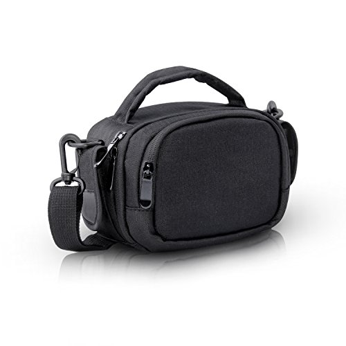 FOSOTO Camera Camcorder Case for Canon VIXIA HF R800 R700,Sony HDR-CX405 CX675 CX670 SR12 FDRAX53,Panasonic HC-V770 HD,RockBirds HDV-5052STR ,PowerLead PL-601 Puto PLD078 HC-V770 HD (Camcorder Case Bag)