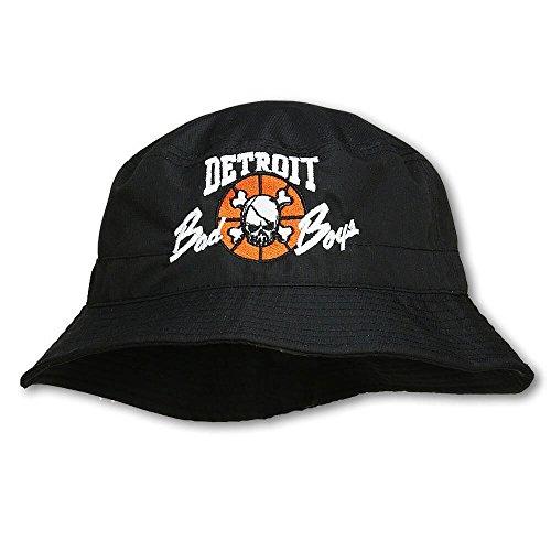 Detroit Pistons Bad Boys Apparel- Historic Vintage NBA Bucket Hat