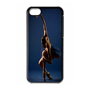 High Quality {YUXUAN-LARA CASE}Swan & Ballet For Iphone 5c STYLE-7