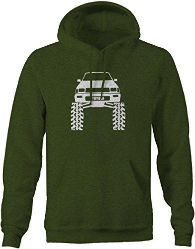 Toyota SR5 4Runner Offroad Lifted Mud Tires Truck Sweatshirt - Xlarge