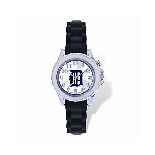 Gifts Licensed Gifts Youth MLB Detroit Tigers Flash Black Strap Watch ()
