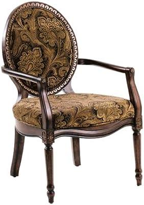 Amazon Com Linon Occasional Chair Zebra Print Kitchen