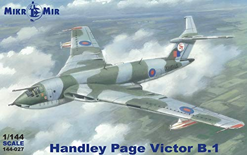 MIKRO-MIR 144-027 Handley Page Victor B.Mk1/K.2P 1/144 Scale 243 mm Model kit