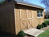 8x12 storage shed - 10X20 SALTBOX WOOD STORAGE GARDEN SHED PLANS 26 STYLES, GABLE GAMBREL, 8, 12, 16