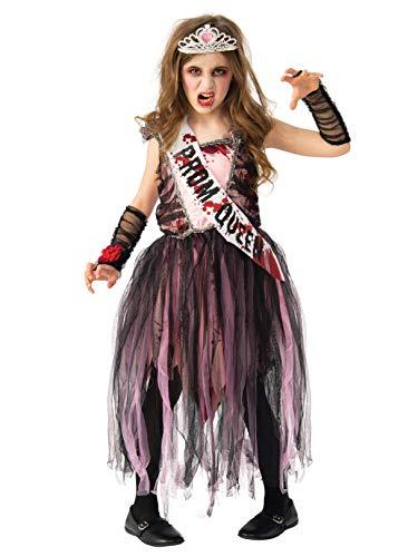 (Rubie's Girls Zombie Prom Queen Costume)