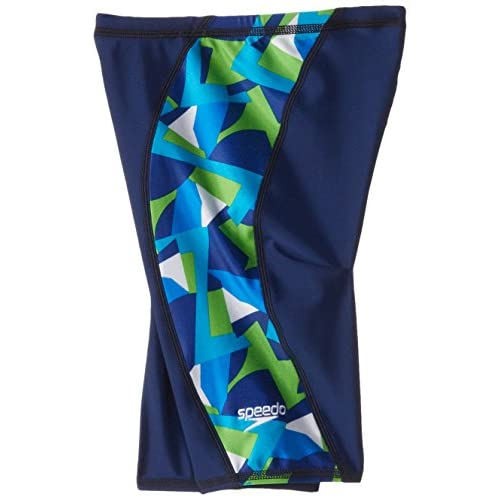 5ca549d1e6b38 Speedo Big Boys' Echo Youth Jammer Swimsuit [5WarK1413215] - $25.99