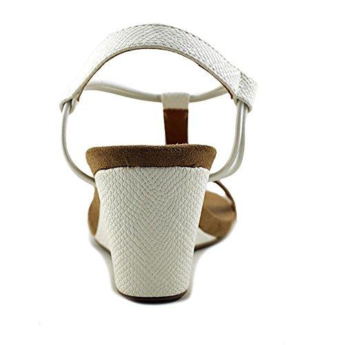 Style & Co Mula Wedge Sandal Women White Snake Scyn33Pw9