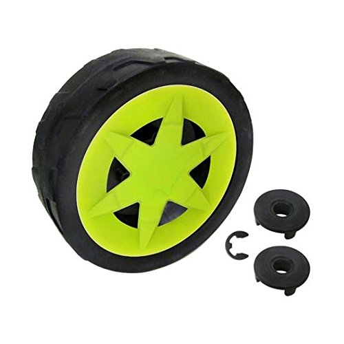 Sun Joe MJ401EWHEELPACK MJ401E/MJ401E-PRO Electric Lawn Mower Replacement Wheel - Replacement Assembly Wheel
