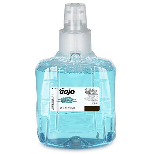 (GOJO LTX-12 Pomeberry Foam Handwash, Pomeberry Fragrance, 1200 mL Handsoap Refill for GOJO LTX-12 Touch-Free Dispenser - 1916-06-EC)