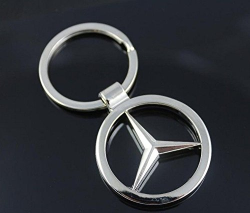 mercedes benz car keychain car logo key ring import it all. Black Bedroom Furniture Sets. Home Design Ideas