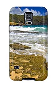 Brand New S5 Defender Case For Galaxy (beaches And Sunshine Beach Earth Nature Beach)