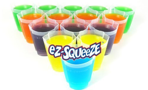 100 EZ-Squeeze Jello Shot Cups NEW! No More MESS!]()