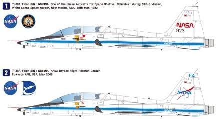 ウルフパックデザイン 1/48 NASA T-38A タロン プラモデル WOLWP10002