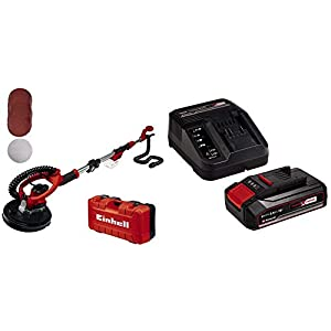 Einhell 4259990 Smerigliatrice a Batteria per cartongesso + 2,5 Ah Power X-Change Batteria 41Kyarw3PTL. SS300