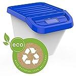 USE-FAMILY-Recycle-Cubos-de-Basura-de-Reciclaje-Apilables-30-Litros-para-Cocina-3-Pegatinas-Reciclar-Incluidas-Pack-de-3-contendores-Exterior-interior