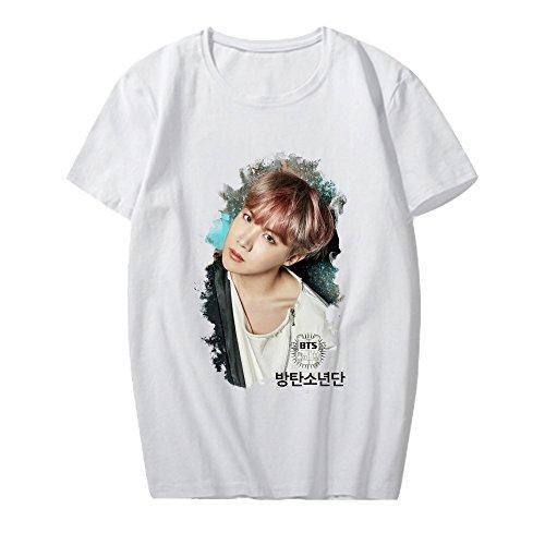 99554131b3144 CHAIRAY Kpop BTS Unisex Shirt Suga Jimin V Jin T-Shirt Tee