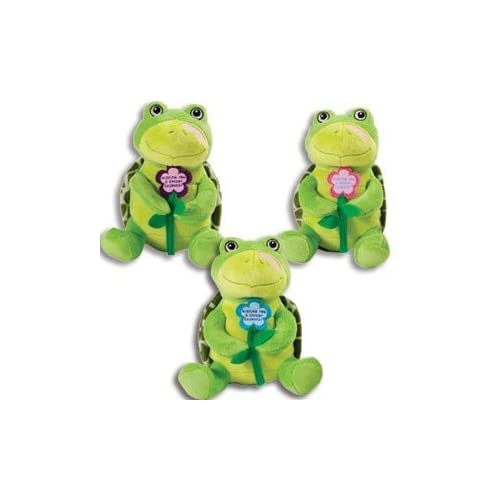 """Cheap Adorable SPEEDY RECOVERY Plush TURTLE - Get Well Soon- GIFT for Sick or Hospitalized PATIENTS/9"""" Stuffed Animal -CHEER Hospital supplier"""