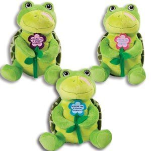 Adorable SPEEDY RECOVERY Plush TURTLE - Get Well Soon- GIFT for Sick or Hospitalized PATIENTS/9