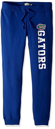 NCAA Florida Gators Women's Ots Fleece Pants, X-Large, Royal