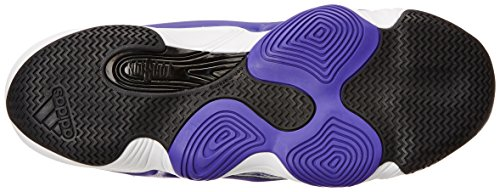 Zapatillas De Baloncesto Adidas Performance Hombres Crazy 2 Violeta / Blanco / Negro