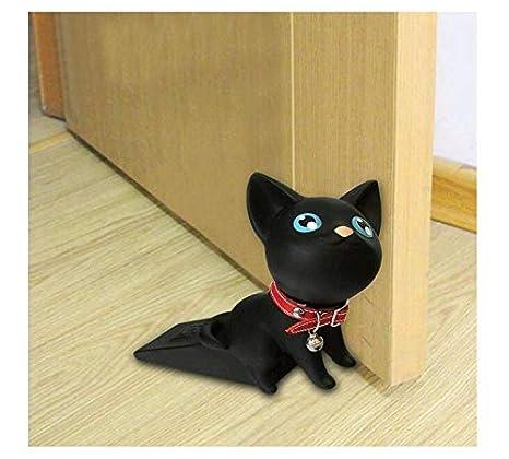 Linyena Cartoon Door Stopper Wedge Cute Cat Door Stoppe Children Door Protector Prevent Doorstops