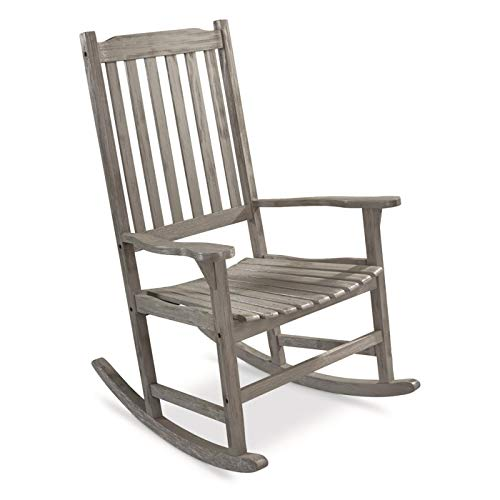 CASTLECREEK Oversized Rocking Chair, 400-lb. Capacity, Driftwood