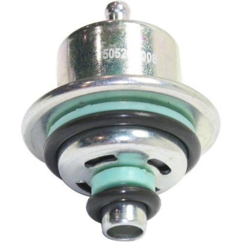 Evan-Fischer EVA21632141890 Fuel Pressure Regulator for L-Series 00-04/Classic 04-05/Pursuit 06-06 Straight Nipple (Ls1 Fuel Pressure Regulator)