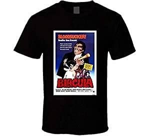 Blacula Cool Vintage 70's Movie Poster T Shirt from Ambulseek