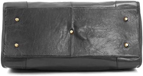 Katana Sac de voyage en cuir Doctor Bag noir