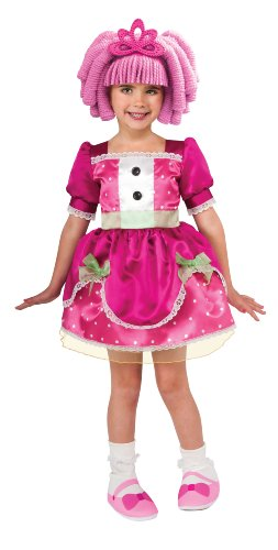 Lalaloopsy Deluxe Jewel Sparkle Costume - Toddler (Make Rag Doll Halloween Costume)