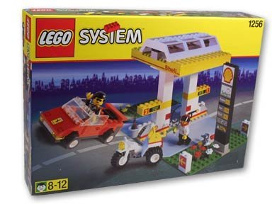 (LEGO Town Shell Promo 1256 Gas Pumps)