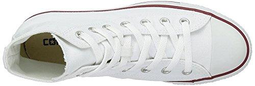 Converse Unisex Chuck Taylor All Star HI Basketball Shoe (8 B(M) US Women / 6 D(M) US Men, Optical White)