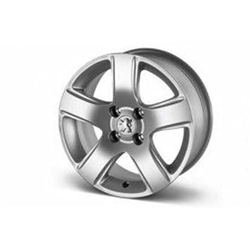 Peugeot - Juego de 4 llantas aleación y ligera Isara 16 Peugeot: Amazon.es: Coche y moto