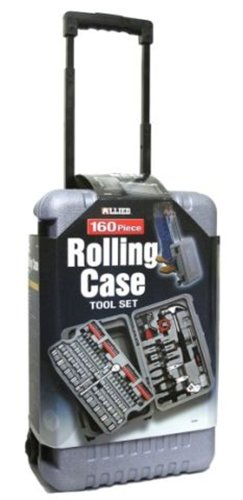 Allied Tools 69099 160-Piece Rolling Case Tool Set (160 Piece Tool)