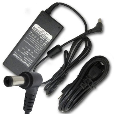 Toshiba Satellite M35x - Laptop AC Adapter/Power Supply/Charger+US Power Cord for Toshiba Satellite 1105 1605 1735 1750 3005-S304 A110-ST1111 M35X-S1142 M35X-S3091 M500 M55-S1391 M55-S1412 M70 l300d-st3501 l505-s6946 m505-s4945 m70-237 p205-s7457 u305-s7432