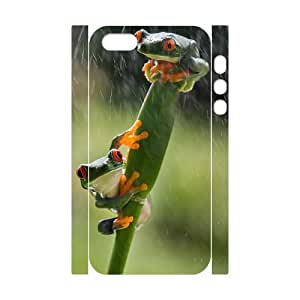 Frog Brand New 3D Cover Case for Iphone 5,5S,diy case cover ygtg532034
