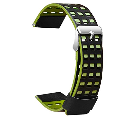 Clearance! For Huami AMAZFIT 2/2S Stratos Watch, Leather Bracelet Watchband for Women Men Adjustable Replacement ()