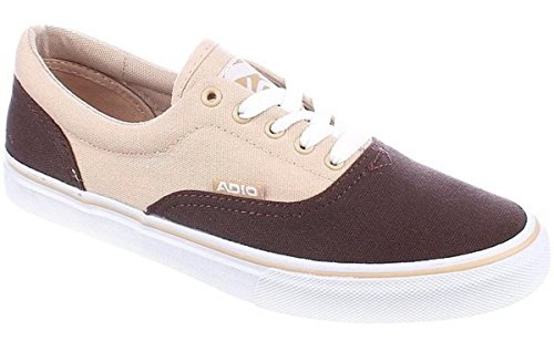 Brown Adio Scarpe Sneaker Da Tan Cruiser Skateboard Canvas wEFfX7qSB