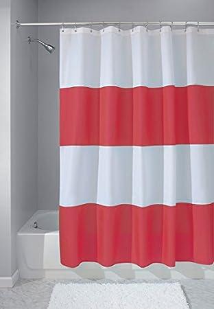 mDesign rideau de douche anti-moisissure - 183 x 183 - rideau de ...